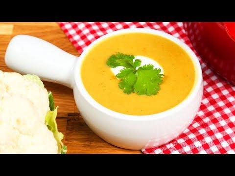 Vegan Cauliflower Soup | #Homemade