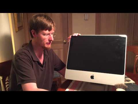 The Proper Way To Vacuum Your Apple iMac Computer