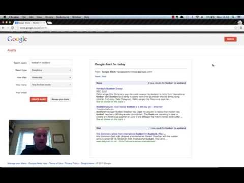 How To Use Google Alerts To Help Monitor Your Competitors