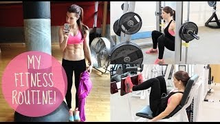 MY GYM ROUTINE | LEGS, BUTT AND ABS!