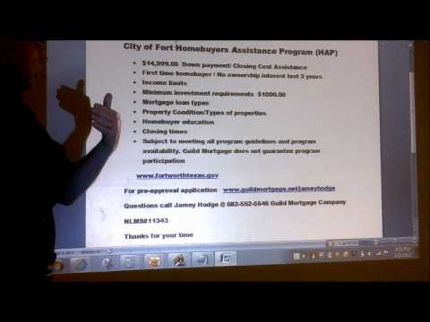 City of Fort Worth Housing Assistance Program