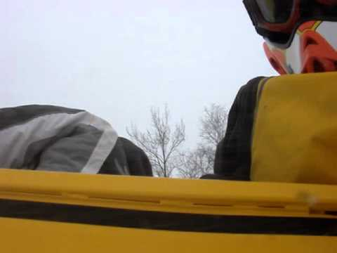 1969 Ski-Boose MkII from rider point of view on Lake George 1