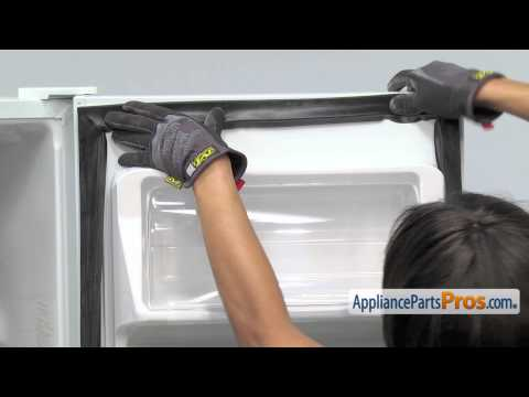 Refrigerator Fresh Food Door Gasket (part #WR24X20456)-How To Replace