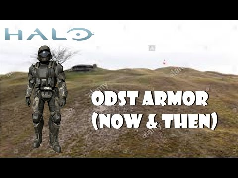 Halo 5 & Reach: ODST Armor (Now & Then)