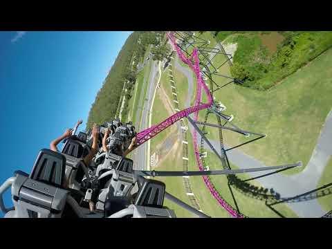 DC Rivals HyperCoaster - Roller Coaster - Warner Bros. Movie World Gold Coast