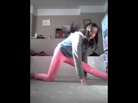 How to get your front leg splits all the way down