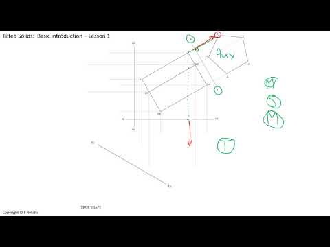 Tilted Solids   Lesson 1
