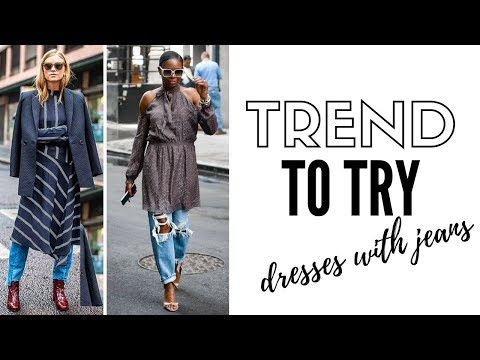 How To Style Dresses With Pants | Fashion Trends 2018