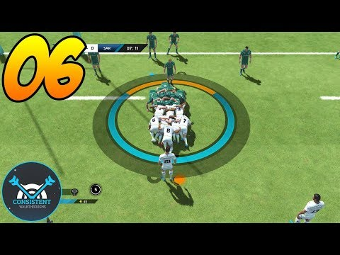 DEFINITELY A YELLOW CARD! (Rugby 18 League Gameplay