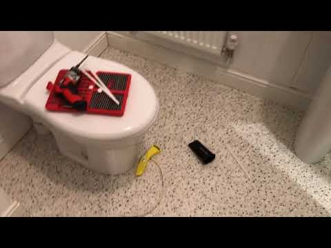 How To How To Lay Vinyl Lino Floor Covering Using Carpet Template - Step 3