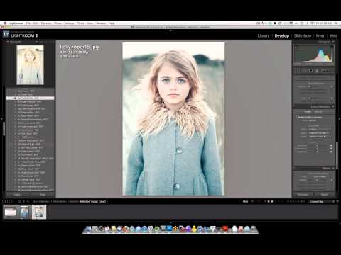 How to change opacity of Lightroom Presets by using Photoshop