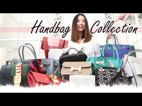 DESIGNER HANDBAG COLLECTION 2018   Hermes Dior Chanel Gucci Celine Balenciaga Boyy