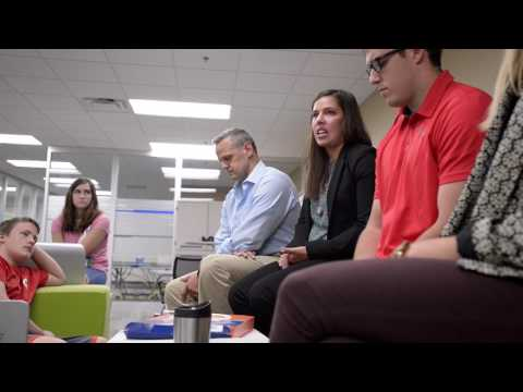 Watch Med Tech Professional Share Career Advice with Students