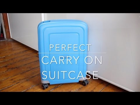 Samsonite S'Cure aircraft carry on size 55cm/40cm/20cm