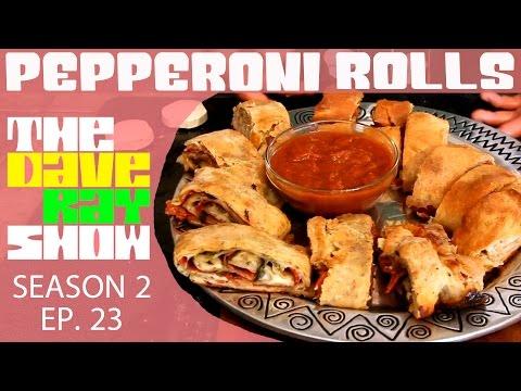 Homemade Pepperoni Rolls
