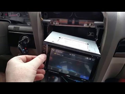 Review and install of the XO Vision double din radio, with factory speakers and kicker 12s