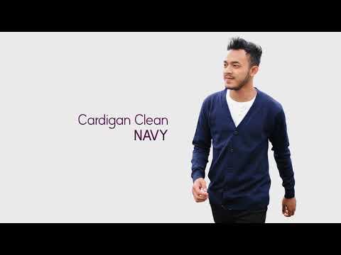 Cardigan Clean - Sweater Rajut Pria Gomuda