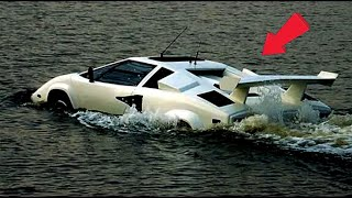 Have you seen any vehicle that runs on water and land? Top 10 Amphibious Vehicles  ✅