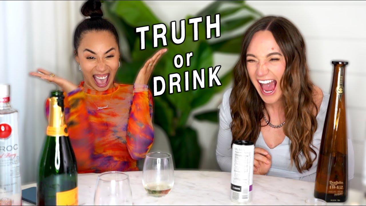 TRUTH OR DRINK!! w/MyLifeAsEva