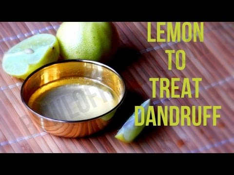 Recipe To Cure Dandruff with Lemon and coconut oil – DIY   Bowl of Herbs