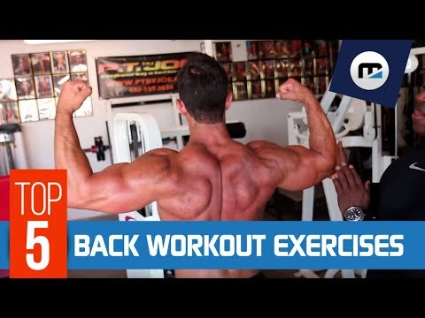 ✪ BACK WORKOUT EXERCISES ✪ Best Routine for 🏋️  Muscles ⚠️  Prevent DANGEROUS Injuries