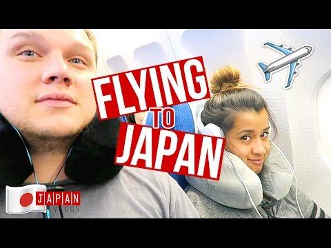 Flying to Japan + Yummy Ramen Dinner | Japan Vlog Day 1