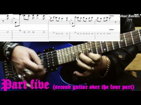 † How to play † Scream aim fire (solo) - Bullet for my Valentine, video-lesson tutorial