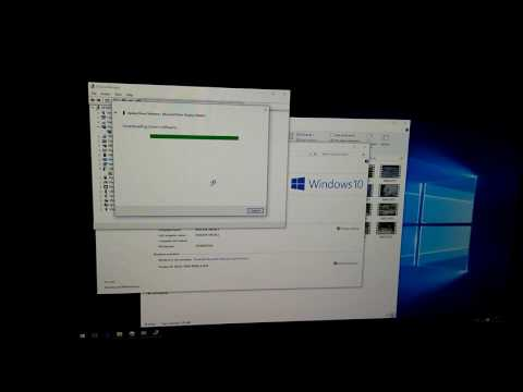 Graphics-card driver update,  Windows 10 (bad video playback)