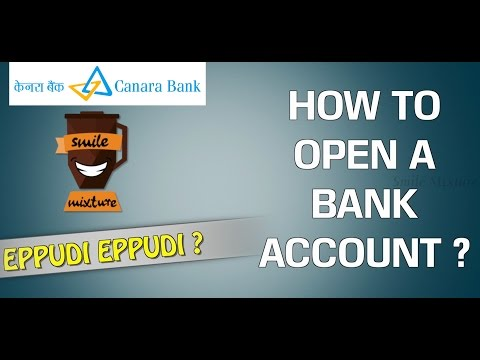 How To Open a Bank Account ? | Canara Bank | Eppudi Eppudi - #11 | Smile Mixture