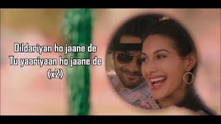 Dil Dariyan (Lyrics) | Prassthanam | Ankit Tiwari ,  Deepali Sathe | Ali Fazal , Amyra Dastur |