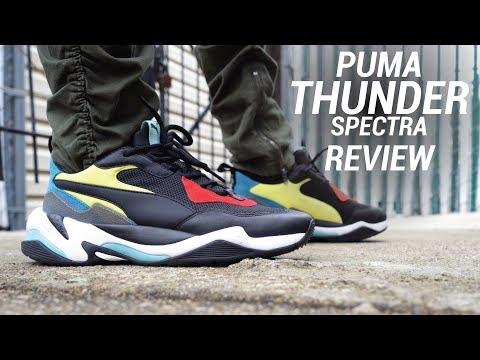puma thunder spectra silver