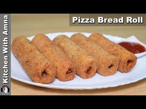 Pizza Bread Roll Recipe - Special Ramadan Recipe - Kitchen With Amna