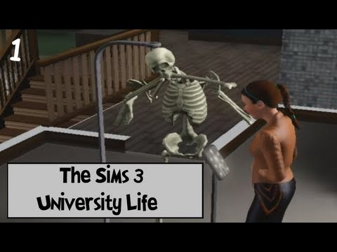 Let's Play: The Sims 3 University Life - (Part 1) - Enrollment w/Commentary