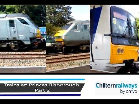 Trains at: Princes Risborough - CML - 17/8/18 - Part 2