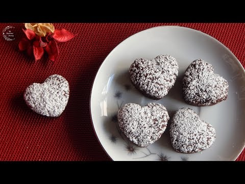 💗 Chocolate Soft Cookie Bites | Valentine's Day Recipes | The Sweetest Journey