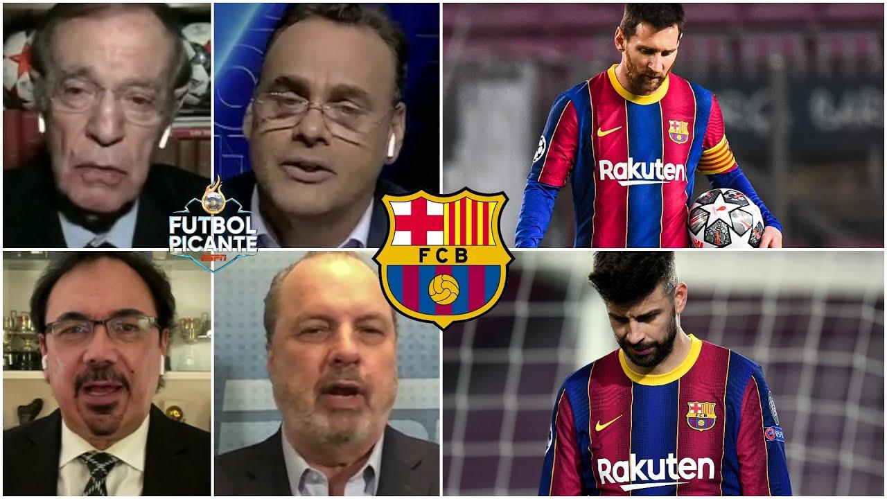 CHAMPIONS. ¿FIN de una ÉPOCA en el Barcelona? Humillado por el PSG y ¿sin futuro? | Futbol Picante