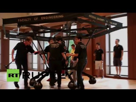 Singapore: Students successfully build 'Snowstorm' flying machine