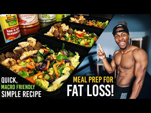 Low Carb Meal Prep For Fat Loss & Muscle Gain | How to Meal Prep!