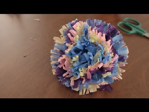 How to Make Paper Hawaiian Flowers : Paper Art Projects