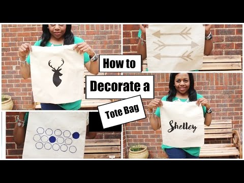 DIY| How to decorate a Tote Bag