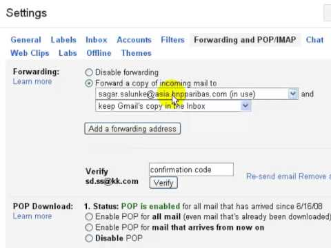 How to transfer emails from another account in gmail