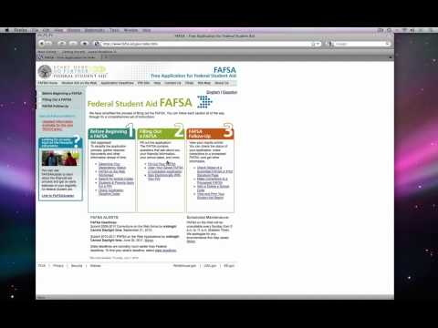 How to get started on your FAFSA