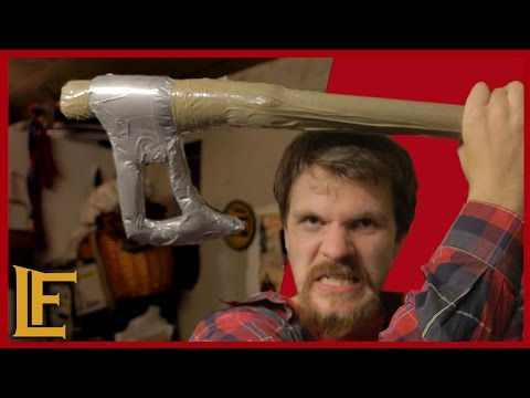 How to make Duct tape LARP Axe