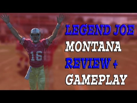 Madden 15 Ultimate Team: Elite Legend Joe Montana Card Review + Gameplay