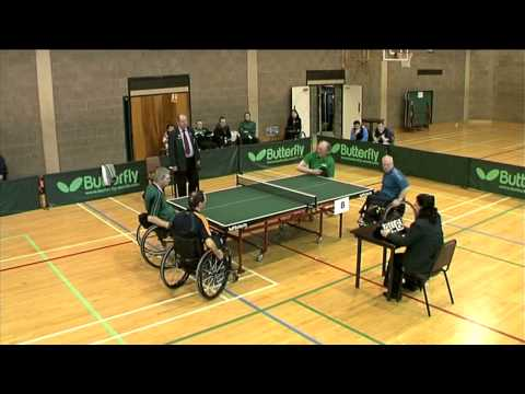 Wheelchair Doubles Final, Irish Table Tennis National Championships 2011