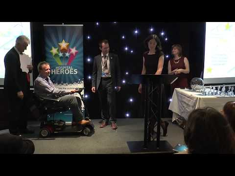 Hospital Heroes 2016 awards held in March 2017 at Southampton FC