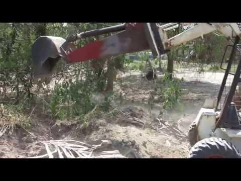 homemade skidsteer backhoe