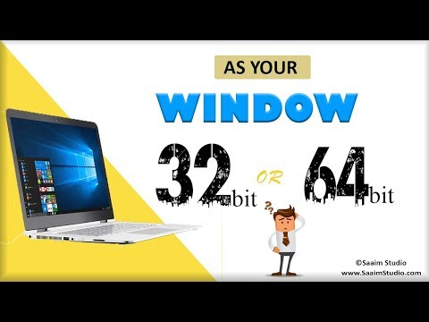 How to check Your Operating System is 32bit or 64bit full turorial