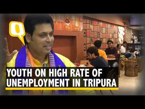The Quint Speaks To The Youth of Tripura On The High Unemployment Rate In The State