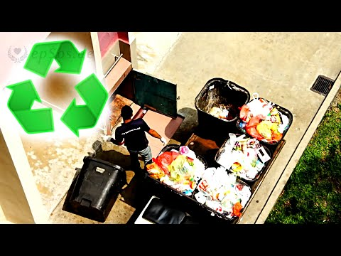 Waste Management System in Singapore of Asia